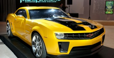 "Four Camaros Featured in the ""Transformers"" Films Are Going Up for Auction"