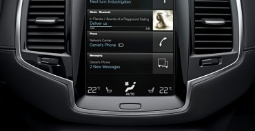 "Volvo Calls XC90 In-Car Control System ""Most Modern"""