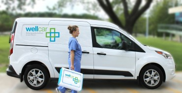 Ford Donates Transit Connect WellCar to University of Kansas