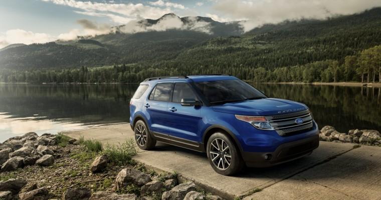 2015 Explorer XLT Trim Bolsters Ford's Lineup