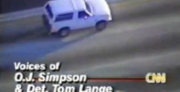 20 Years Ago: O.J. and a White Ford Bronco