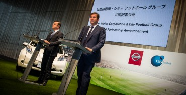 Nissan and City Football Group Announce Five-Year Parternship