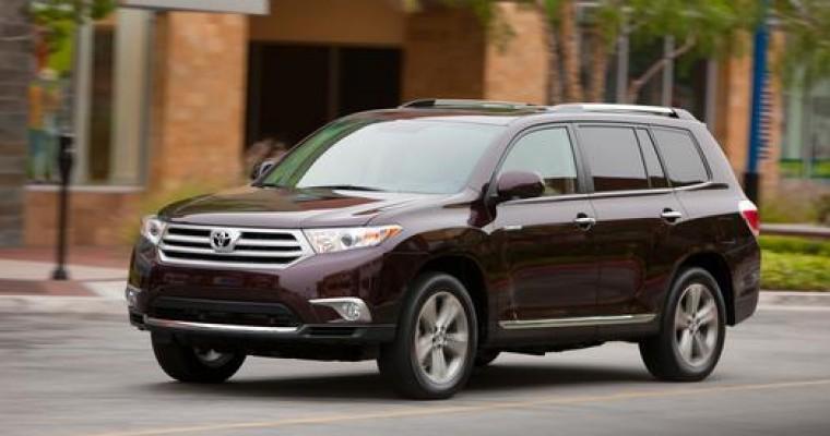 2013 Toyota Highlander Overview