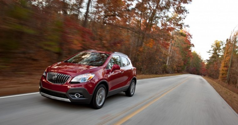 Encore Excels, but Buick Sales Fall in January