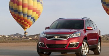 NHTSA Gives 2015 Chevy Traverse a Five-Star Safety Rating