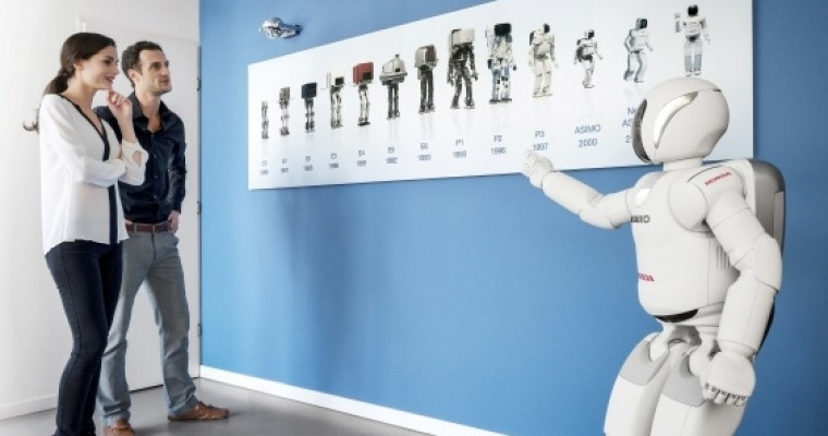 All-New ASIMO Makes European Debut in Brussels