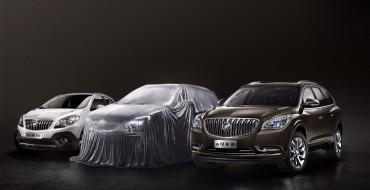 Buick Envision Teased for Chinese Market