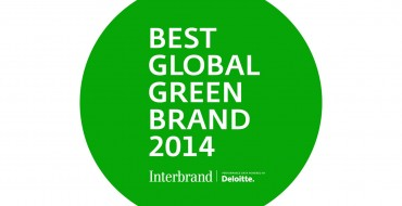 Chevrolet Makes List of Top Global Green Brands