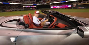 Chevy Gives All-Star MVP Mike Trout a Corvette Stingray