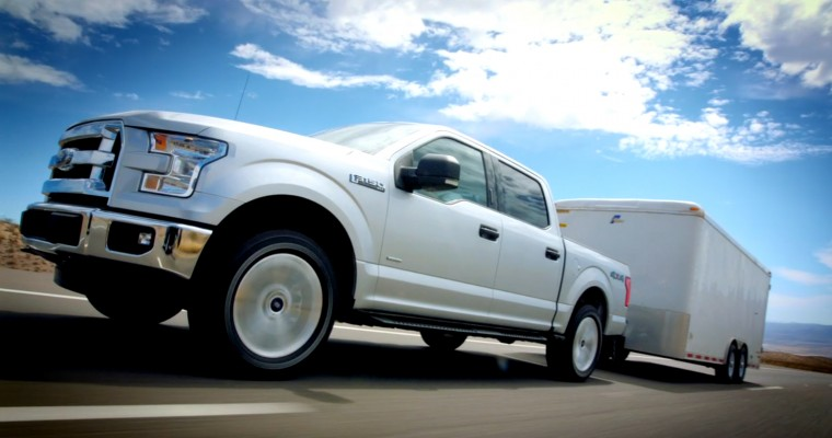 2015 F-150, Mustang Lead Ford in January US Sales
