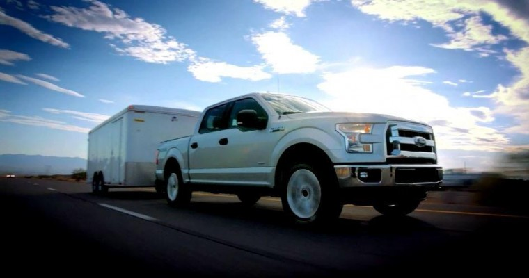 2015 Ford F-150 MSRP is $26,615, Up $395