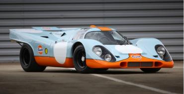 McQueen's 'Le Mans' 1969 Porsche 917K Could Fetch $20M