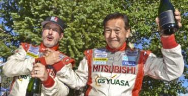Mitsubishi Races to 1-2 Finish at 2014 Pikes Peak International Hill Climb