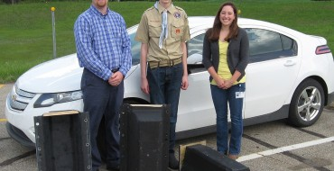Boy Scout Builds Homes for Bats with Chevy Volt Battery Covers
