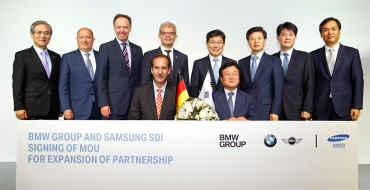 BMW Group and Samsung SDI Extend Battery Partnership