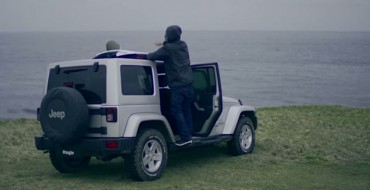 Surfing in the UK Is Tough; Having a Jeep Helps