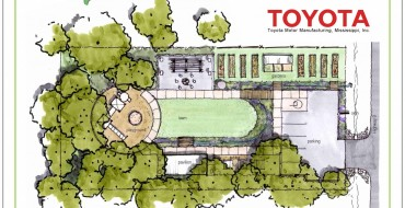 Toyota-Blue Springs Water Garden and Education Park Announced