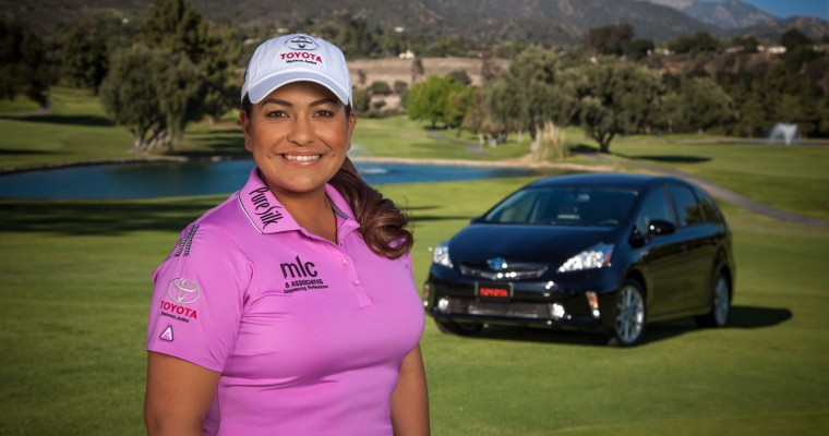 Golfer Lizette Salas Aims for Gold with Toyota Drive for Success Program