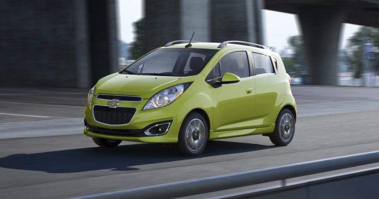 2015 Chevy Spark EV Gets $690 Price Cut