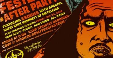 Scion Sponsors SDCC Bash Thrown by Kirk Hammett
