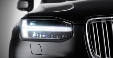 Volvo Confirms XC90 Built on SPA, Shows Off Thor's Hammer Headlights