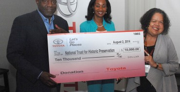 Toyota Supports Preservation of Endangered Historic Places