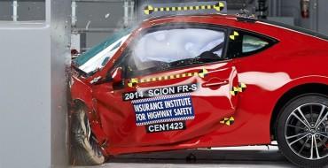 2014 Subaru BRZ/Scion FR-S Earn IIHS Top Safety Pick