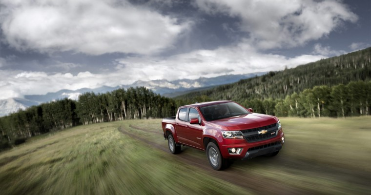 Pitting the 2015 Colorado Against the Competition