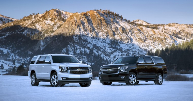 2015 Chevy Tahoe and Suburban Features to be Added on in October