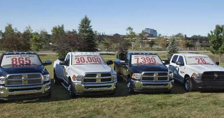 2015 Ram Heavy Duty Trucks Launch This Week