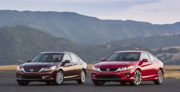 Honda Accord Passes Toyota Camry in August Sales