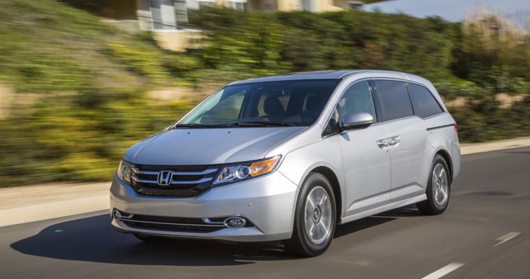 Honda Fit, CR-V and Odyssey Win 2015 ALG Residual Value Awards