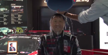 Toyota Execs Tackle ALS Ice Bucket Challenge