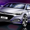 All-New Hyundai i20 Sketches Hint at Design