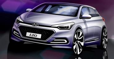 All-New Hyundai i20 Sketches Hint at Design