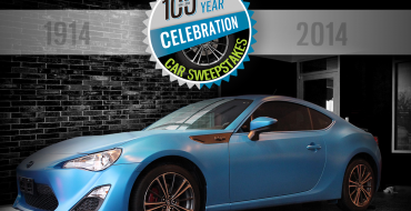 Win a Blue Beauty of an FR-S in Beck/Arnley 100th Year Celebration Car Sweepstakes