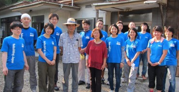 Nissan Japan Employees Join Habitat for Humanity in Tohoku