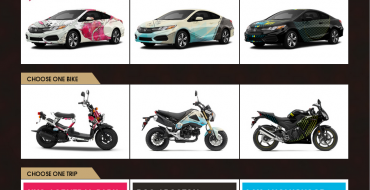 2014 Honda Civic Tour Sweepstakes: Win a Civic, Bike, or Trip for Two