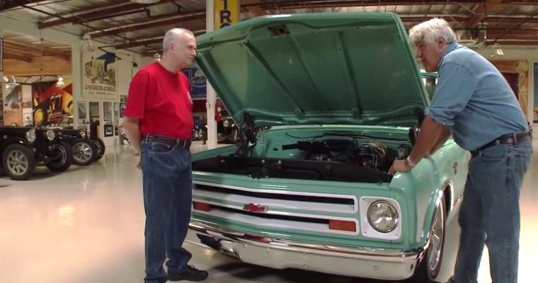 [VIDEO] Jay Leno Drives a 1967 Chevy C10 Restomod