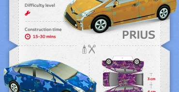 Papercraft Prius and GT86 Will Make Your Desk Explode With Awesomeness