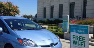 Toyota Prius Plug-In Hybrid Offers Free Oh, Ranger! Wi-Fi™ in LA and NY Parks