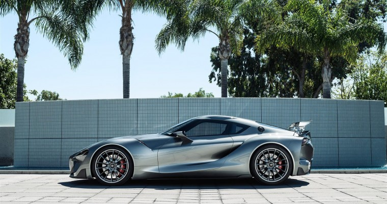 Toyota Unleashes Second FT-1 Sports Car Concept