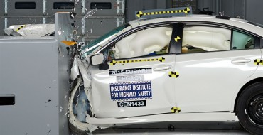2015 Legacy and Outback Earn IIHS Top Safety Pick+