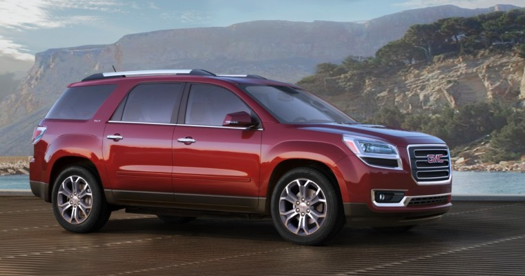 Here are the 2015 GMC Acadia Updates