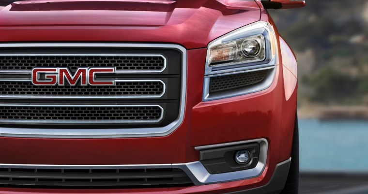 GMC Acadia Sets New Full-Year Sales Record in November