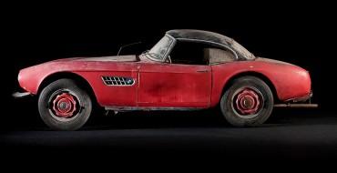 Elvis' BMW 507 Roadster Being Restored