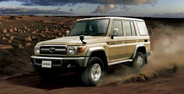 Updated Toyota Land Cruiser 70 Coming to Japan