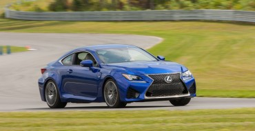2015 RC F Engine Performs Like Pro Wrestler