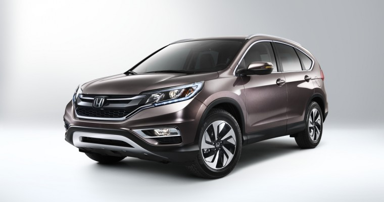 2016 Honda CR-V Pricing and Fuel Efficiency Figures Announced