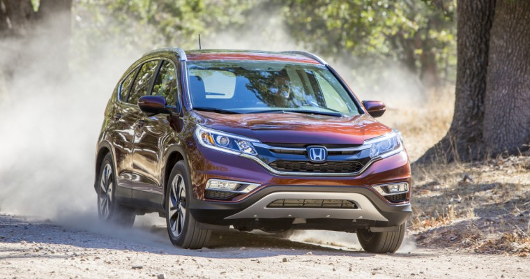 Honda Fit, Accord and CR-V Named Best Family Cars for 2015